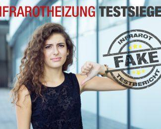 Infrarotheizung Testsieger