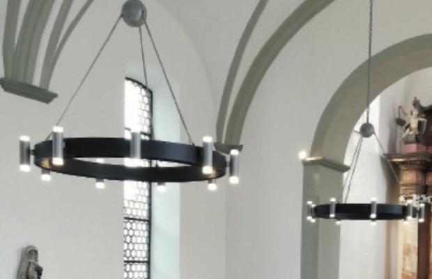 Neuartige Kirchenheizung von Haller